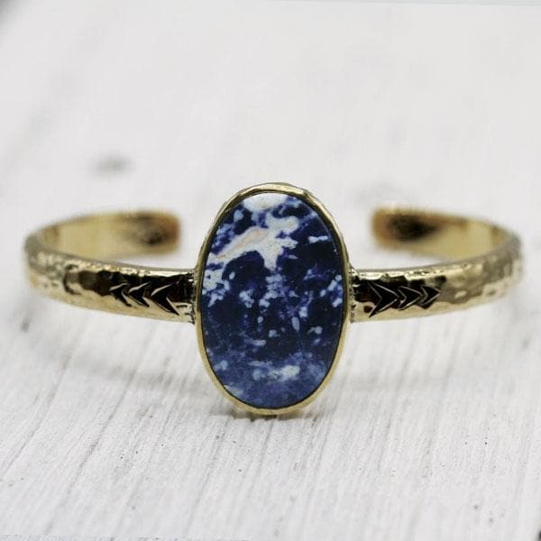 Heirloom Cuff || Sodalite