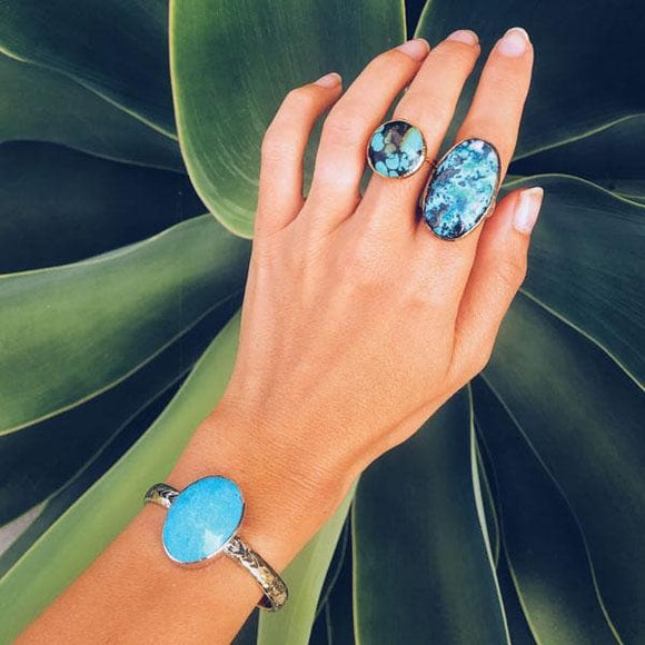 Heirloom Cuff || Turquoise