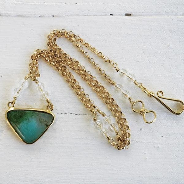 Gem Silica Necklace