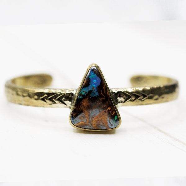Heirloom Cuff || Quilpie Opal