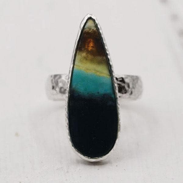 Indonesian Opal Ring