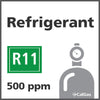 Refrigerant R11 Calibration Gas - 500 PPM