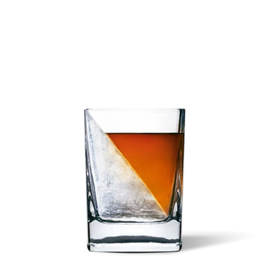 Corkcicle Whiskey Wedge cocktail glass