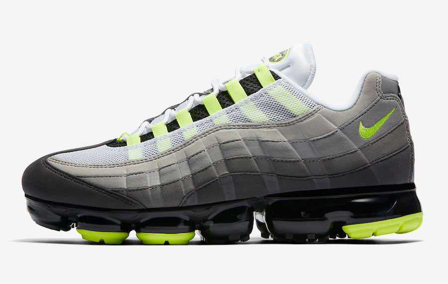 "NIKE AIR VAPORMAX 95 ""OG NEON"" RELEASE DATE: AUGUST 16TH, 2018"