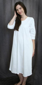 3/4 Sleeve 3/4 Length Gown Jersey Knit Collection - Simple Pleasures, Inc.