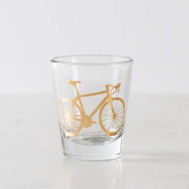 Bicycle Shot Glass, Precious Metals - Vital Industries