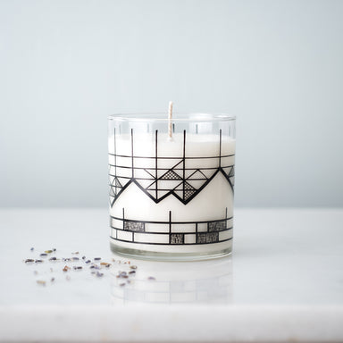 Geometric Mountain Candle - Vital Industries