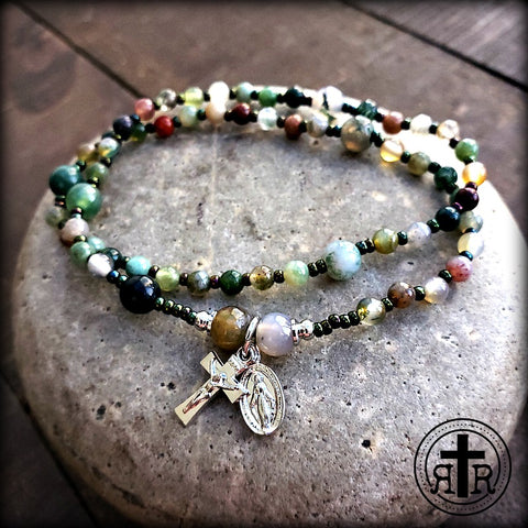 Rosary-On-Your-Wrist Bracelet