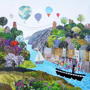 Bristol Flags a flyin' - Giclée Print by Jenny Urquhart | The Bristol Shop