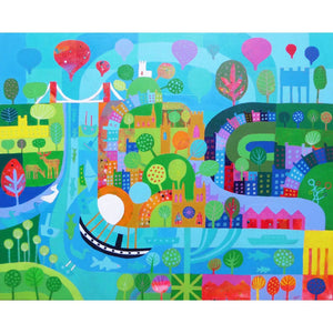 Bristol in a Dream - Giclée Print by Jenny Urquhart | The Bristol Shop
