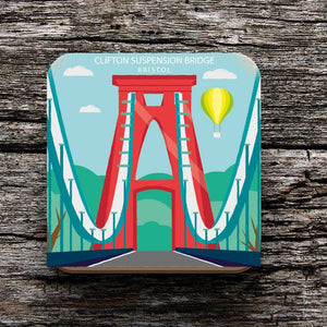 Clifton Suspension Bridge Coaster by Adriana Barrios | The Bristol Shop