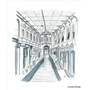 The Glass Arcade Postcard by Susie Ramsay | The Bristol Shop