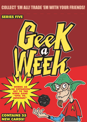 Geek A Week: Season 5 Trading Cards and Card Game