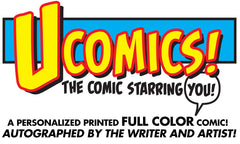 UComic! Personalized FULL COLOR Comic 11x17 Print AUTOGRAPHED!