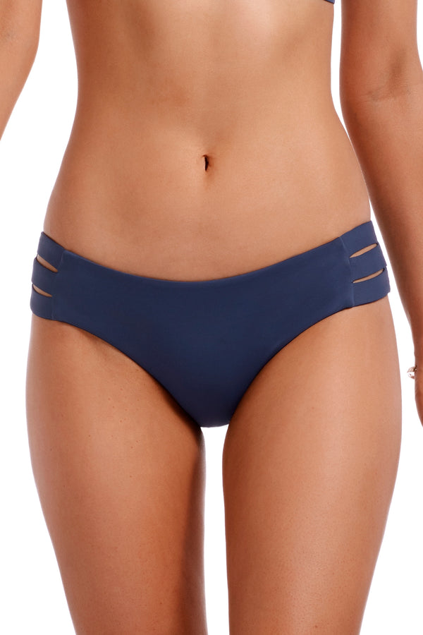 Vitamin A Deep Blue EcoLux™ Emelia Triple Strap Bottom