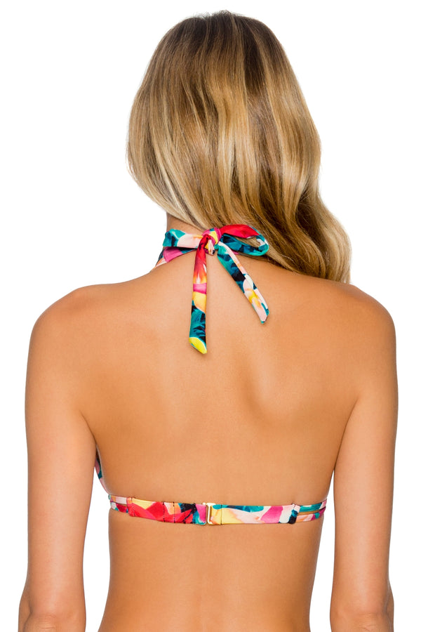 Sunsets Native Blooms Marilyn Halter Top