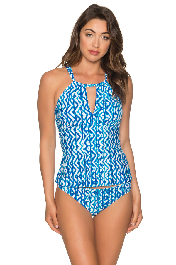 Sunsets Aquarius Mia Tankini Top