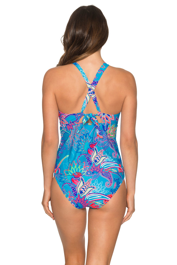 Sunsets Caribbean Breeze Mia Tankini Top