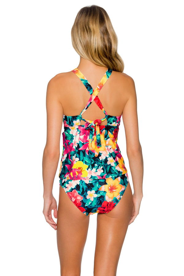 Sunsets Native Blooms Mia Tankini Top