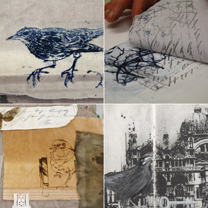 Mixed Media Sketchbook Techniques with Sue Brown - 2 day course - Thurs 11th + Fri 12th July 2019