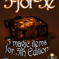 5-for-5e Book 1: 5 Magic Items for 5th Edition