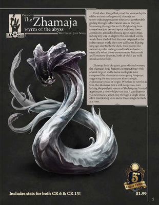 Storm Bunny Presents - The Zhamaja (5e)