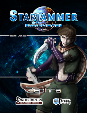 Starjammer: Races of the Void - Zephra
