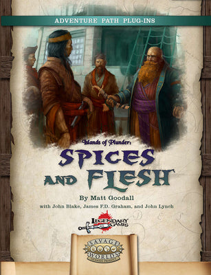 An exotic pirate adventure on the high seas for Seasoned Savage Worlds heroes!