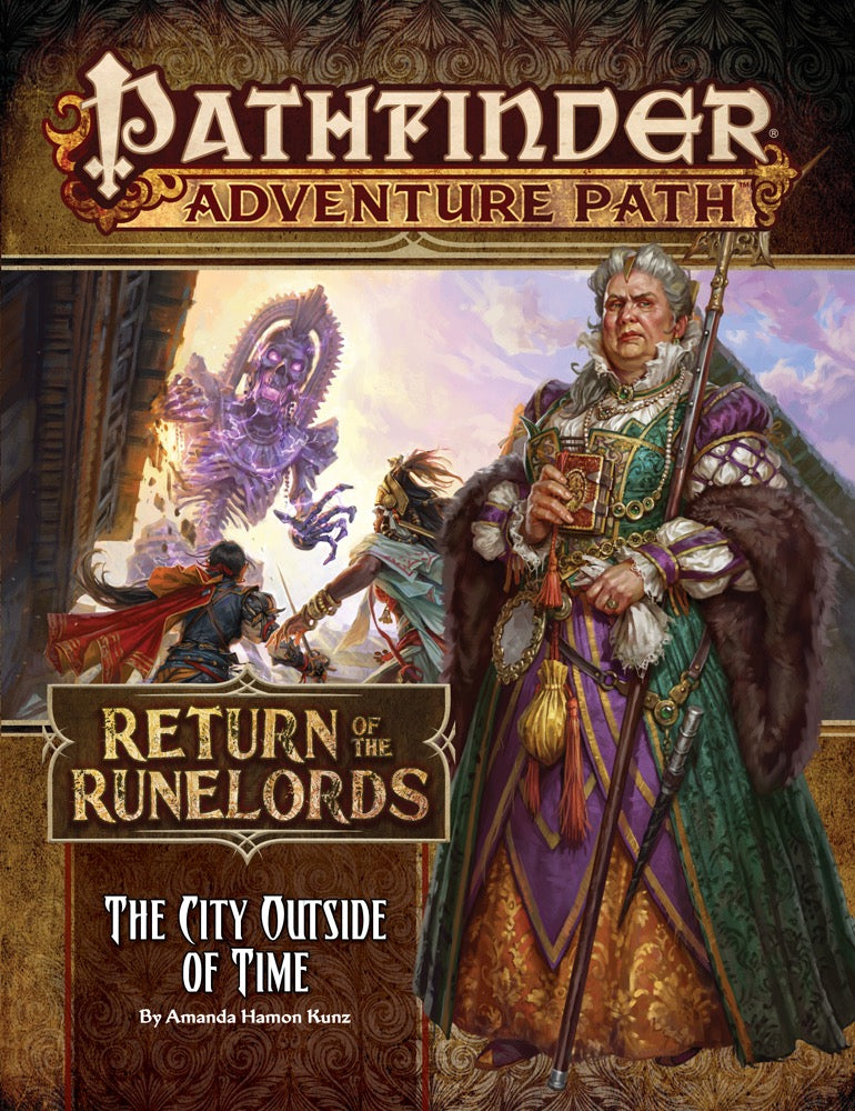 Pathfinder RPG: (Adventure Path) The City Outside of Time (Return of the Runelords 5/6)