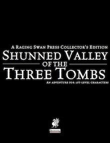 Shunned Valley of the Three Tombs Collector's Edition
