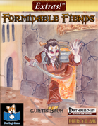 Extras! Formidable Fiends (Pathfinder® Compatible)