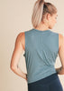 Light Blue Signature Midi Tank