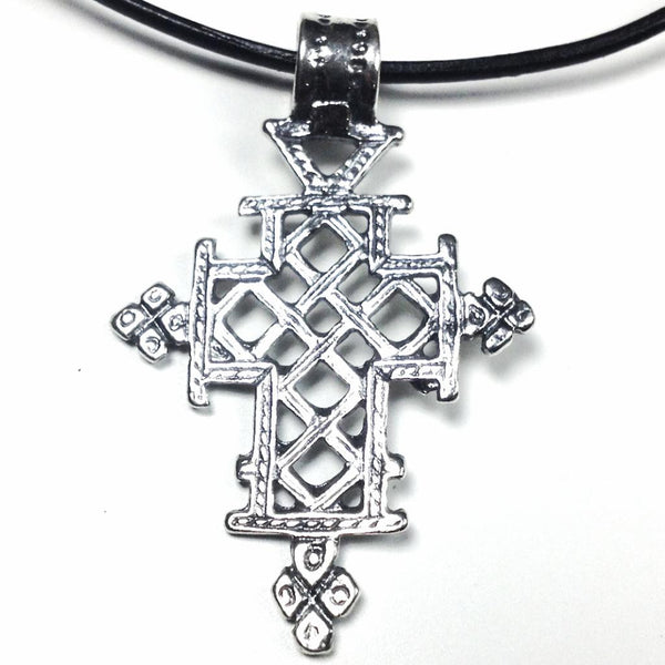 Orthodox Sterling Silver Cross Pendant