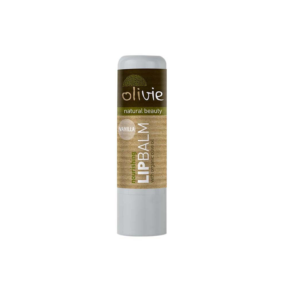 Olivie Lip Balm with Organic Olive Oil and Vanilla