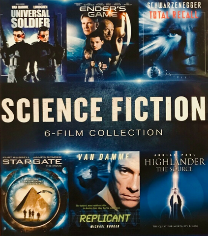 Science Fiction 6 Film Collection