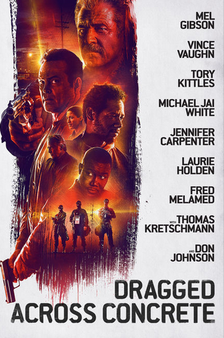Dragged Across Concrete (UHD/4K)