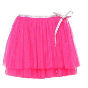 oh baby! Glinda Wrap Skirt - Infant - Neon Pink