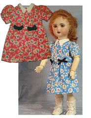 Presentation 1946 Dress & Bloomers - Old B Doll Clothing Company