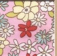 100% Cottons:  Tiffany Prints - Pink, Blue or Ivory  (NEW!!!) - Old B Doll Clothing Company