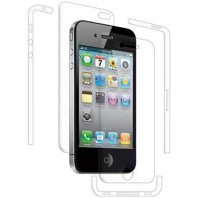 AMZER ShatterProof Screen Protector for iPhone 4 - Full Body Coverage - amzer