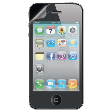 AMZER ShatterProof Screen Protector for iPhone 4 - Front Coverage - amzer