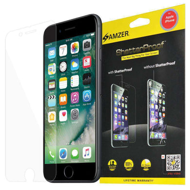 AMZER ShatterProof Screen Protector for iPhone 6 - Front Coverage - amzer