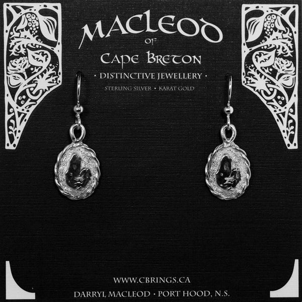 E-402C Cape Breton Map Twisted Frame Small