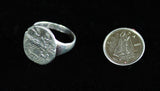 R-1011 Replica Roman Coin Ring