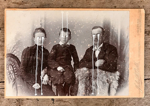 The Light Is Leaving Us All - Large Cabinet Card 13