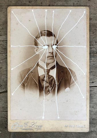 The Light Is Leaving Us All - Large Cabinet Card 2