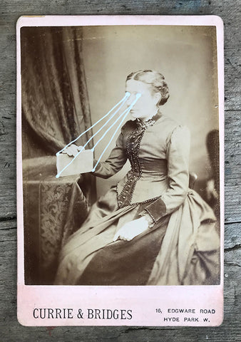 The Light Is Leaving Us All - Large Cabinet Card 42
