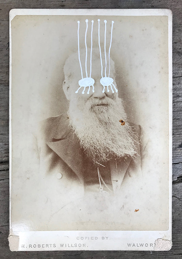 The Light Is Leaving Us All - Large Cabinet Card 43