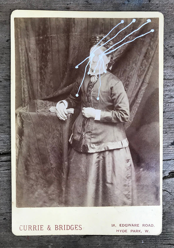 The Light Is Leaving Us All - Large Cabinet Card 45