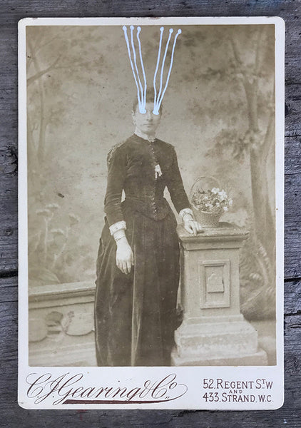 The Light Is Leaving Us All - Large Cabinet Card 46